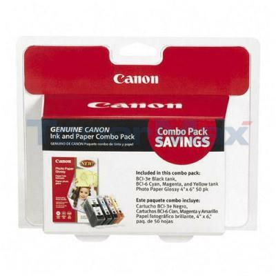 CANON BCI-3/6 INK CARTRIDGES CMYK